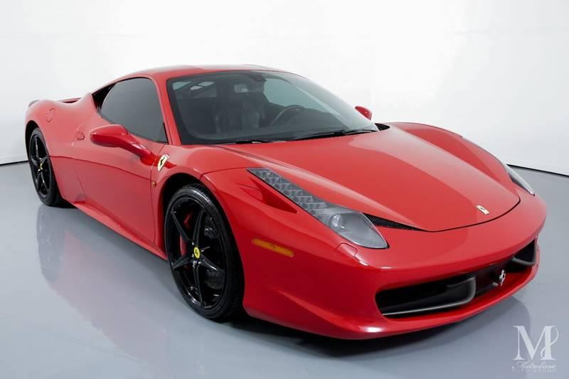 Used 2014 Ferrari 458 Italia Base 2dr Coupe for sale Sold at Metrolina Auto Group in Charlotte NC 28217 - 2
