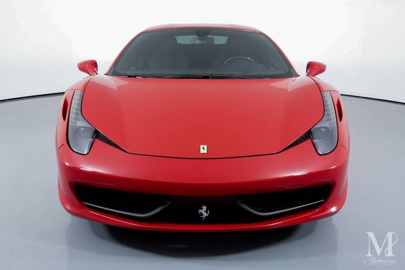 Used 2014 Ferrari 458 Italia Base 2dr Coupe for sale Sold at Metrolina Auto Group in Charlotte NC 28217 - 3