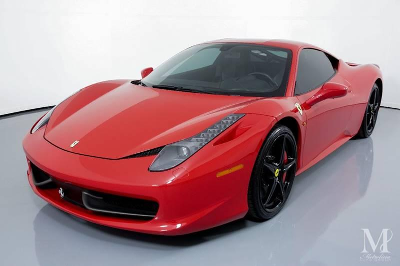Used 2014 Ferrari 458 Italia Base 2dr Coupe for sale Sold at Metrolina Auto Group in Charlotte NC 28217 - 4