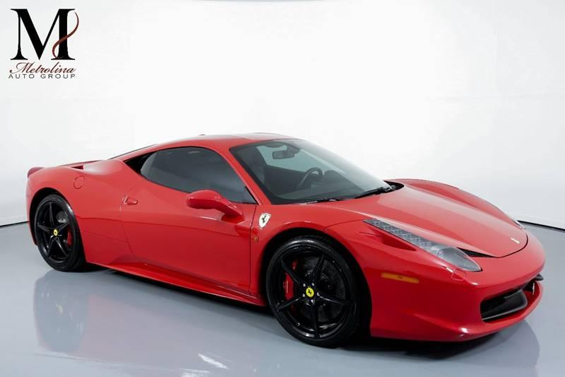 Used 2014 Ferrari 458 Italia Base 2dr Coupe for sale Sold at Metrolina Auto Group in Charlotte NC 28217 - 1