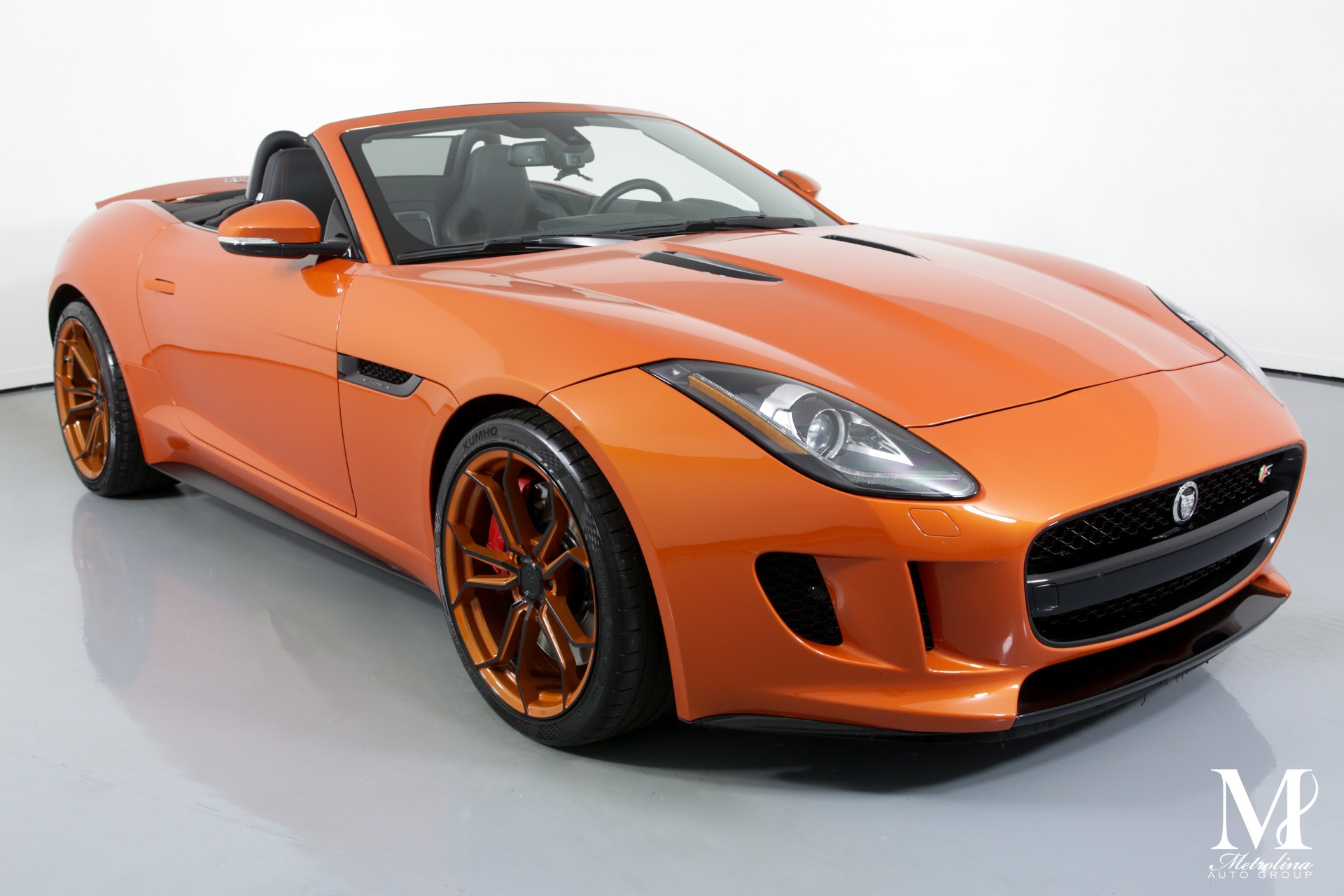 Used 2014 Jaguar F-TYPE V8 S for sale $40,996 at Metrolina Auto Group in Charlotte NC 28217 - 3