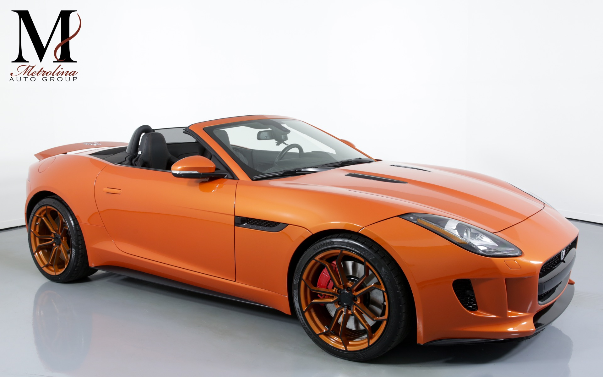 Used 2014 Jaguar F-TYPE V8 S for sale $40,996 at Metrolina Auto Group in Charlotte NC 28217 - 1