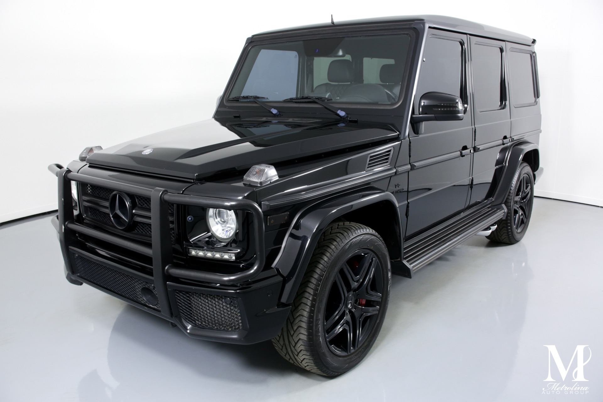 Used 2015 Mercedes-Benz G-Class G 63 AMG for sale Sold at Metrolina Auto Group in Charlotte NC 28217 - 4