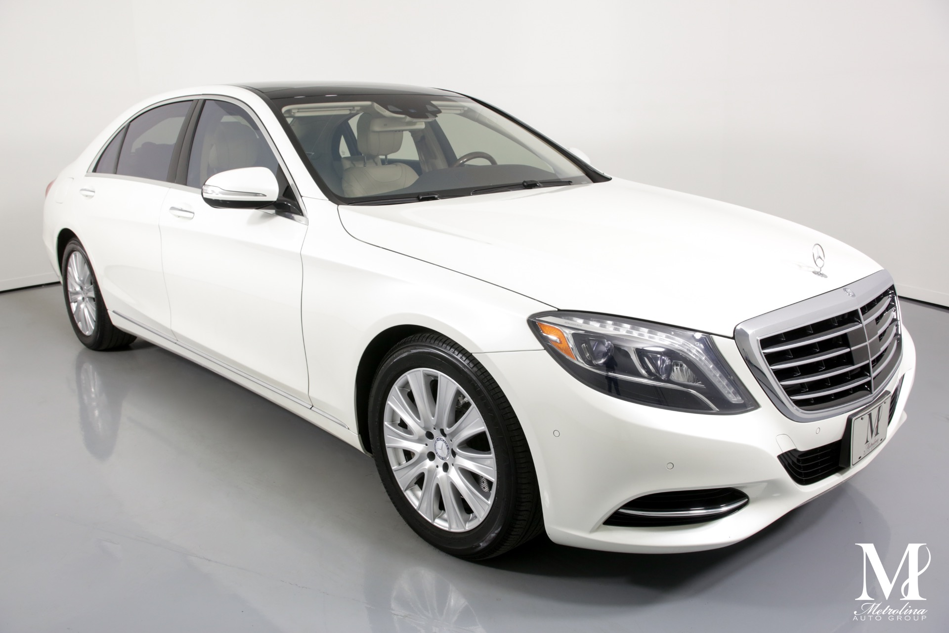 Used 2014 Mercedes-Benz S-Class S 550 4MATIC for sale $36,456 at Metrolina Auto Group in Charlotte NC 28217 - 2