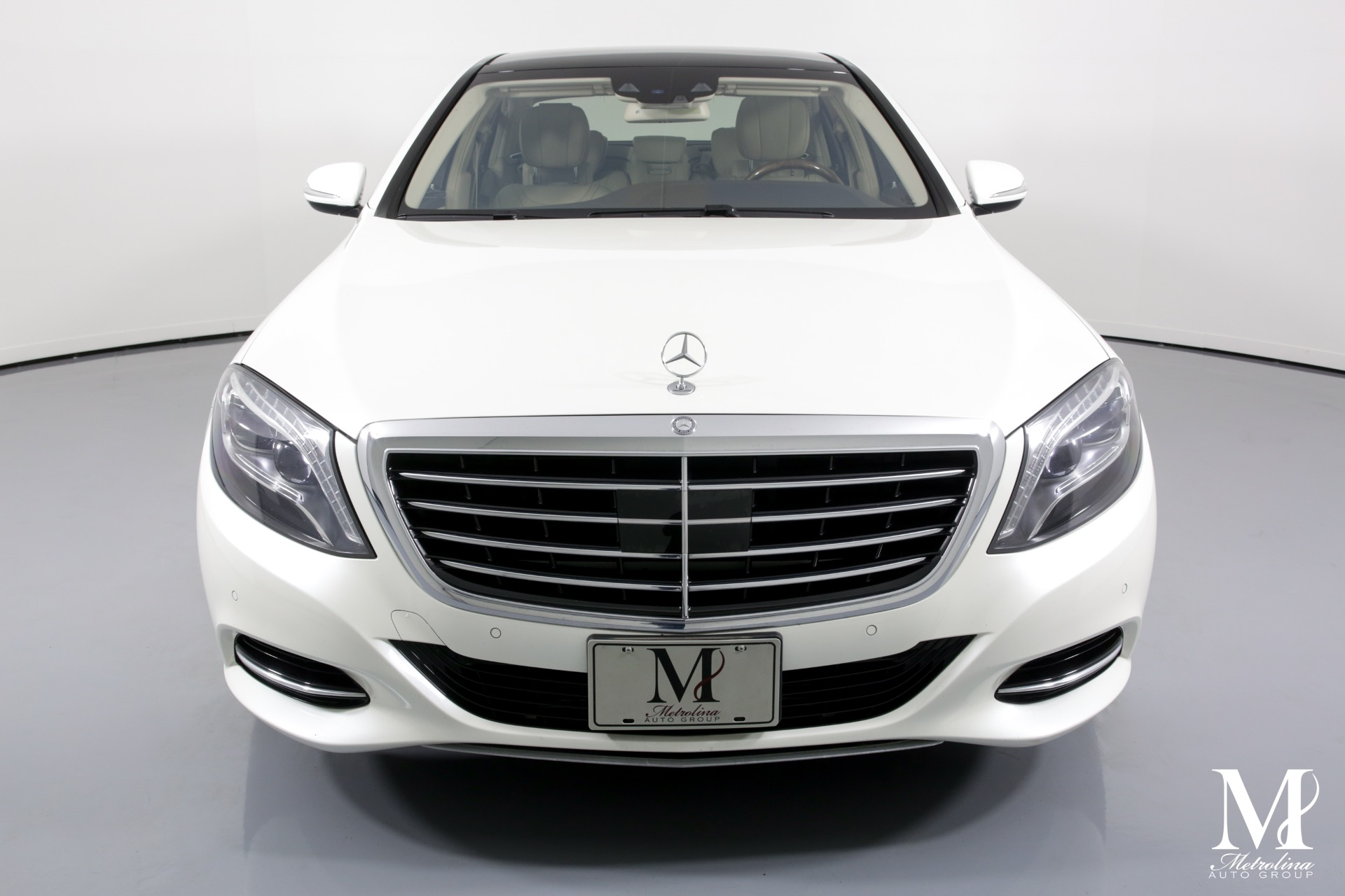 Used 2014 Mercedes-Benz S-Class S 550 4MATIC for sale $36,456 at Metrolina Auto Group in Charlotte NC 28217 - 3