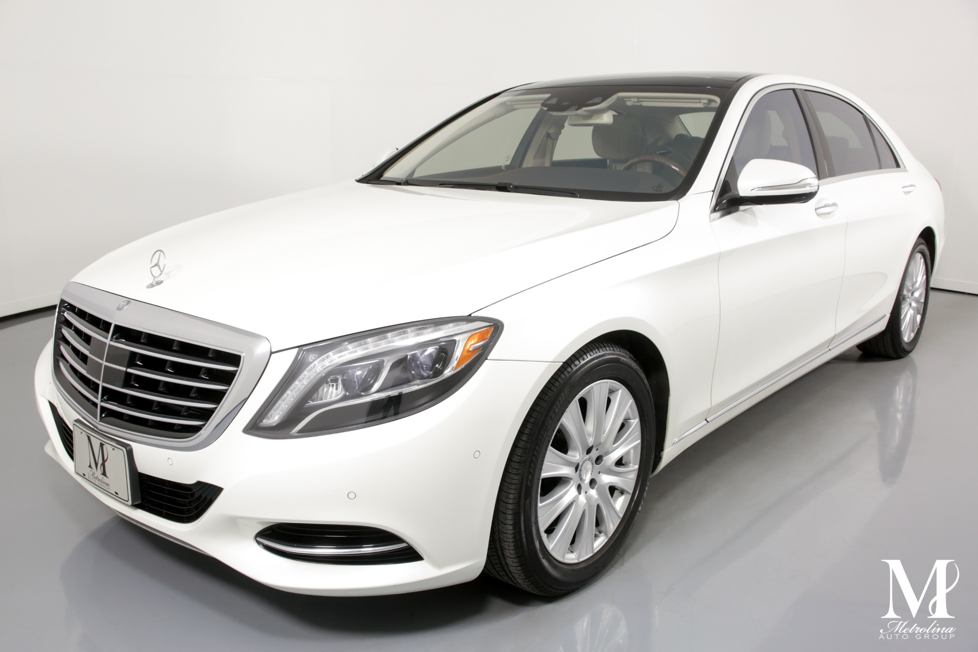 Used 2014 Mercedes-Benz S-Class S 550 4MATIC for sale $36,456 at Metrolina Auto Group in Charlotte NC 28217 - 4