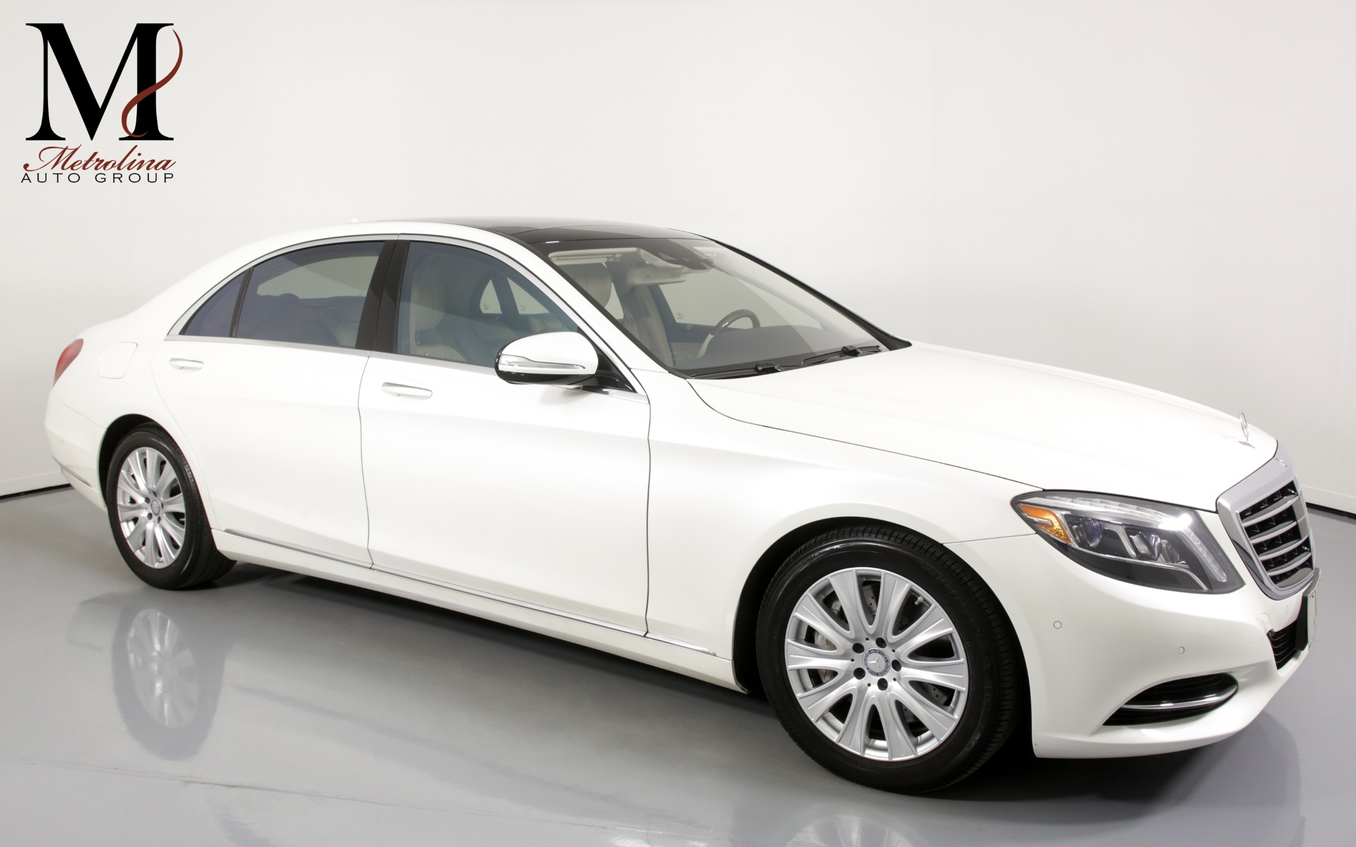 Used 2014 Mercedes-Benz S-Class S 550 4MATIC for sale $36,456 at Metrolina Auto Group in Charlotte NC 28217 - 1