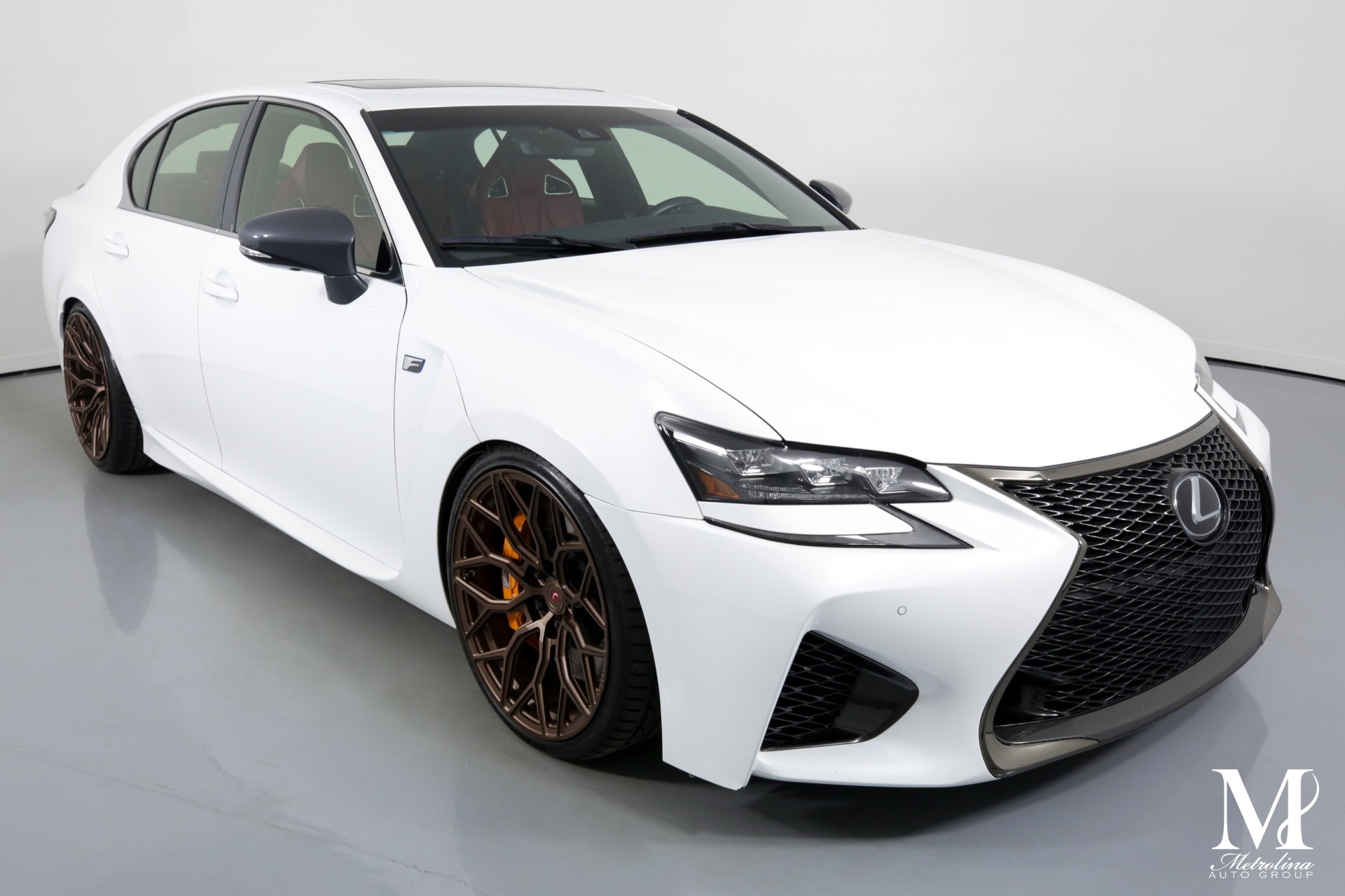 Used 2018 Lexus GS F for sale $61,996 at Metrolina Auto Group in Charlotte NC 28217 - 2