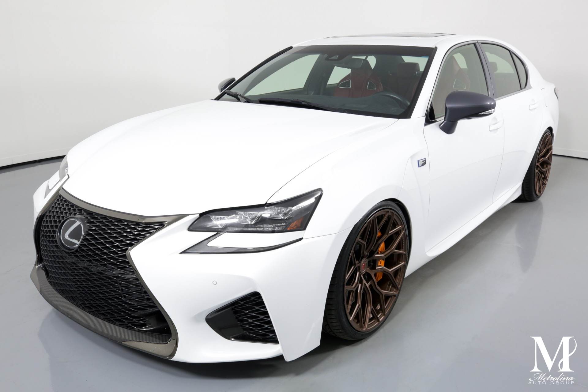 Used 2018 Lexus GS F for sale $61,996 at Metrolina Auto Group in Charlotte NC 28217 - 4