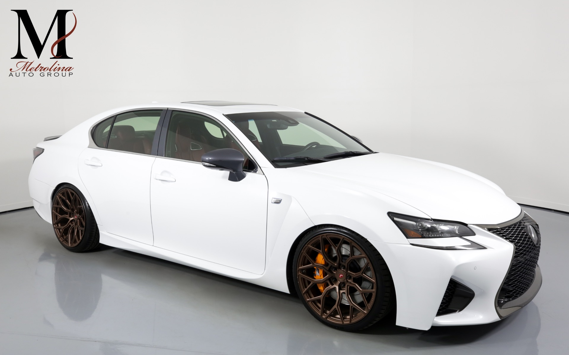 Used 2018 Lexus GS F for sale $61,996 at Metrolina Auto Group in Charlotte NC 28217 - 1