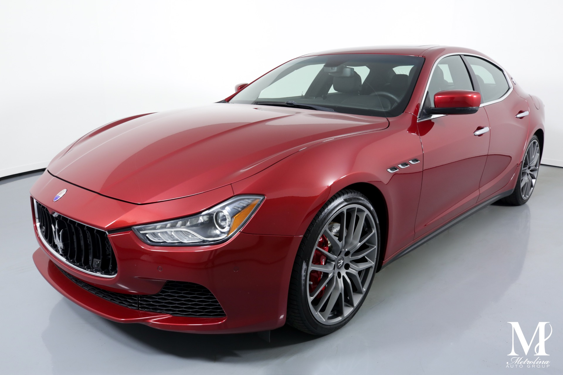 Used 2014 Maserati Ghibli S Q4 for sale Sold at Metrolina Auto Group in Charlotte NC 28217 - 4