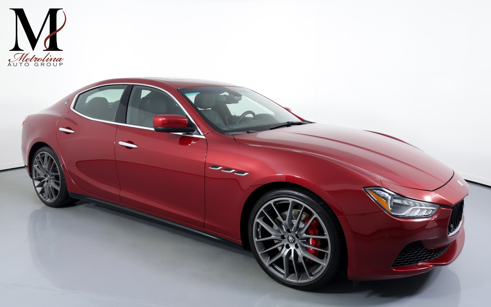 Used 2014 Maserati Ghibli S Q4 for sale Sold at Metrolina Auto Group in Charlotte NC 28217 - 1