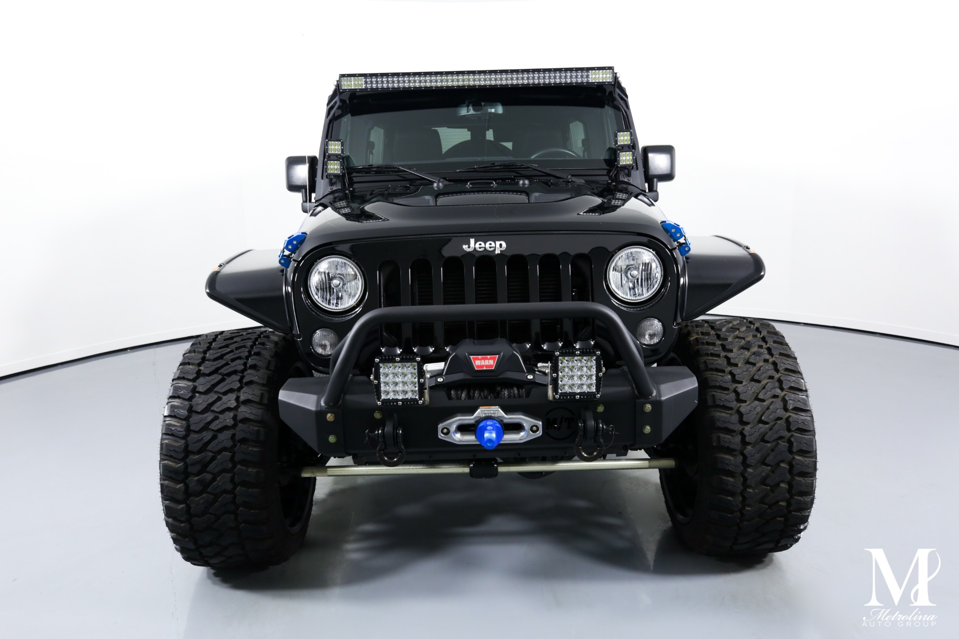 Used 2014 Jeep Wrangler Unlimited Rubicon for sale $47,996 at Metrolina Auto Group in Charlotte NC 28217 - 3