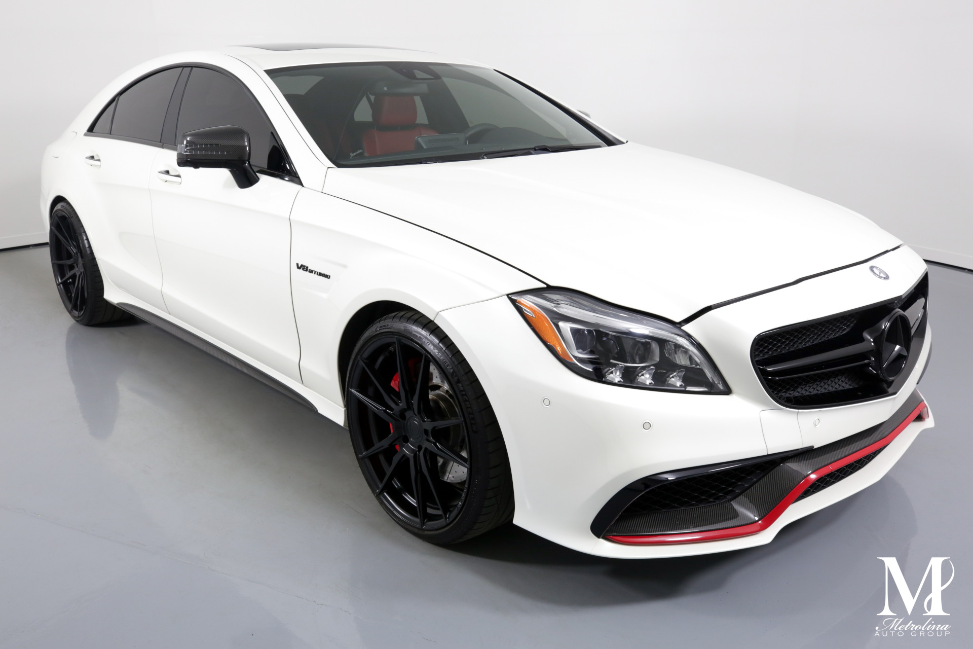 Used 2016 Mercedes-Benz CLS AMG CLS 63 S for sale $61,996 at Metrolina Auto Group in Charlotte NC 28217 - 2