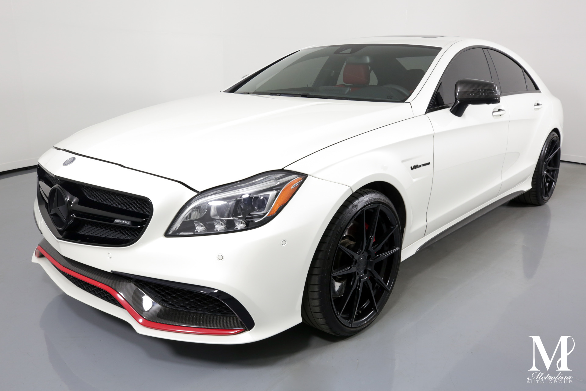 Used 2016 Mercedes-Benz CLS AMG CLS 63 S for sale $61,996 at Metrolina Auto Group in Charlotte NC 28217 - 4