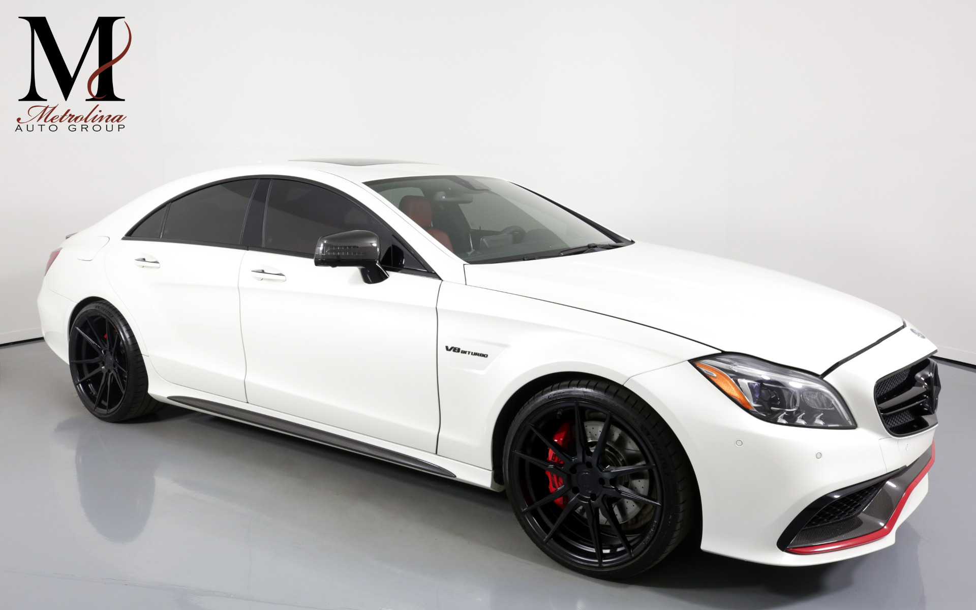 Used 2016 Mercedes-Benz CLS AMG CLS 63 S for sale $61,996 at Metrolina Auto Group in Charlotte NC 28217 - 1
