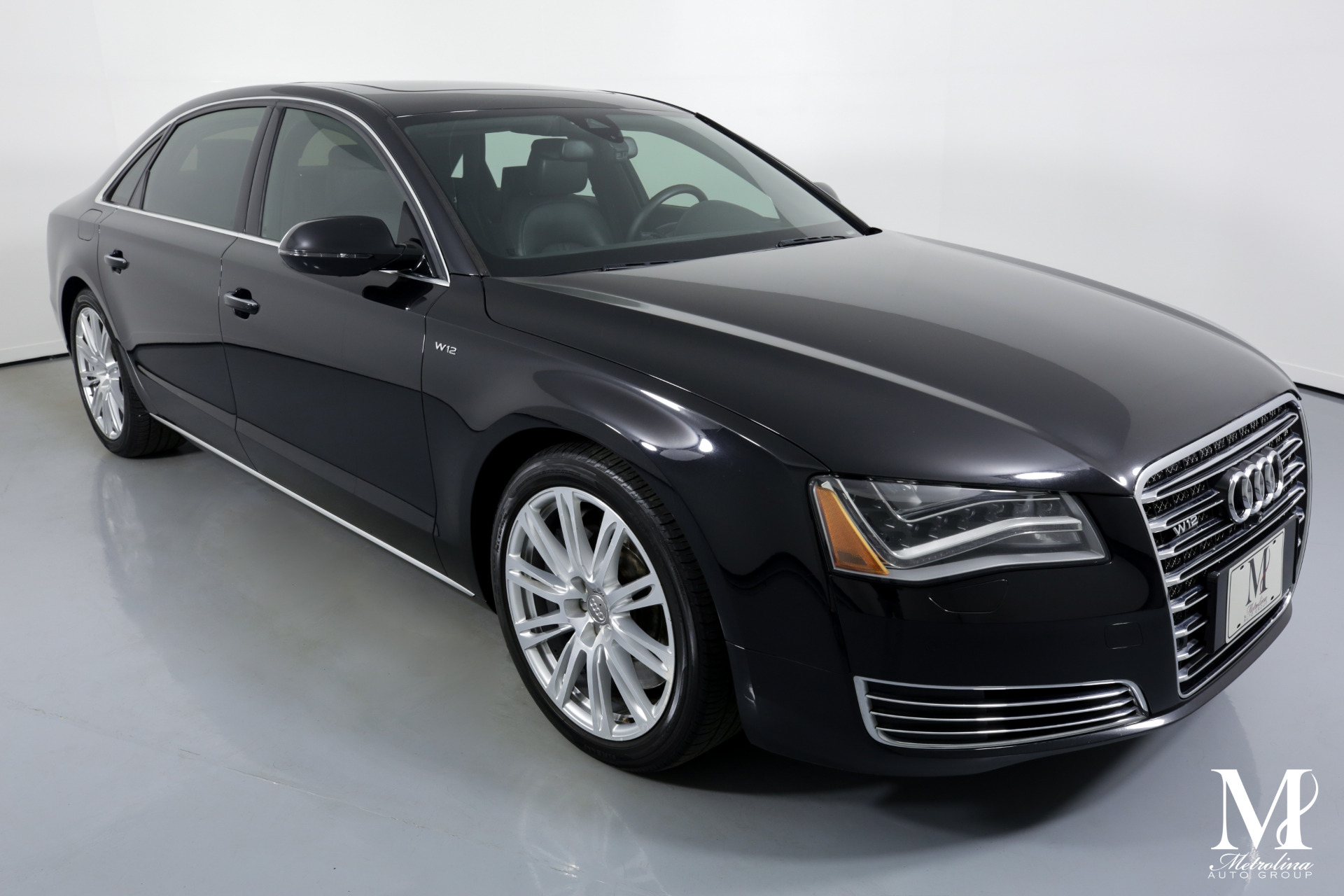 Used 2013 Audi A8 L W12 quattro for sale Sold at Metrolina Auto Group in Charlotte NC 28217 - 2