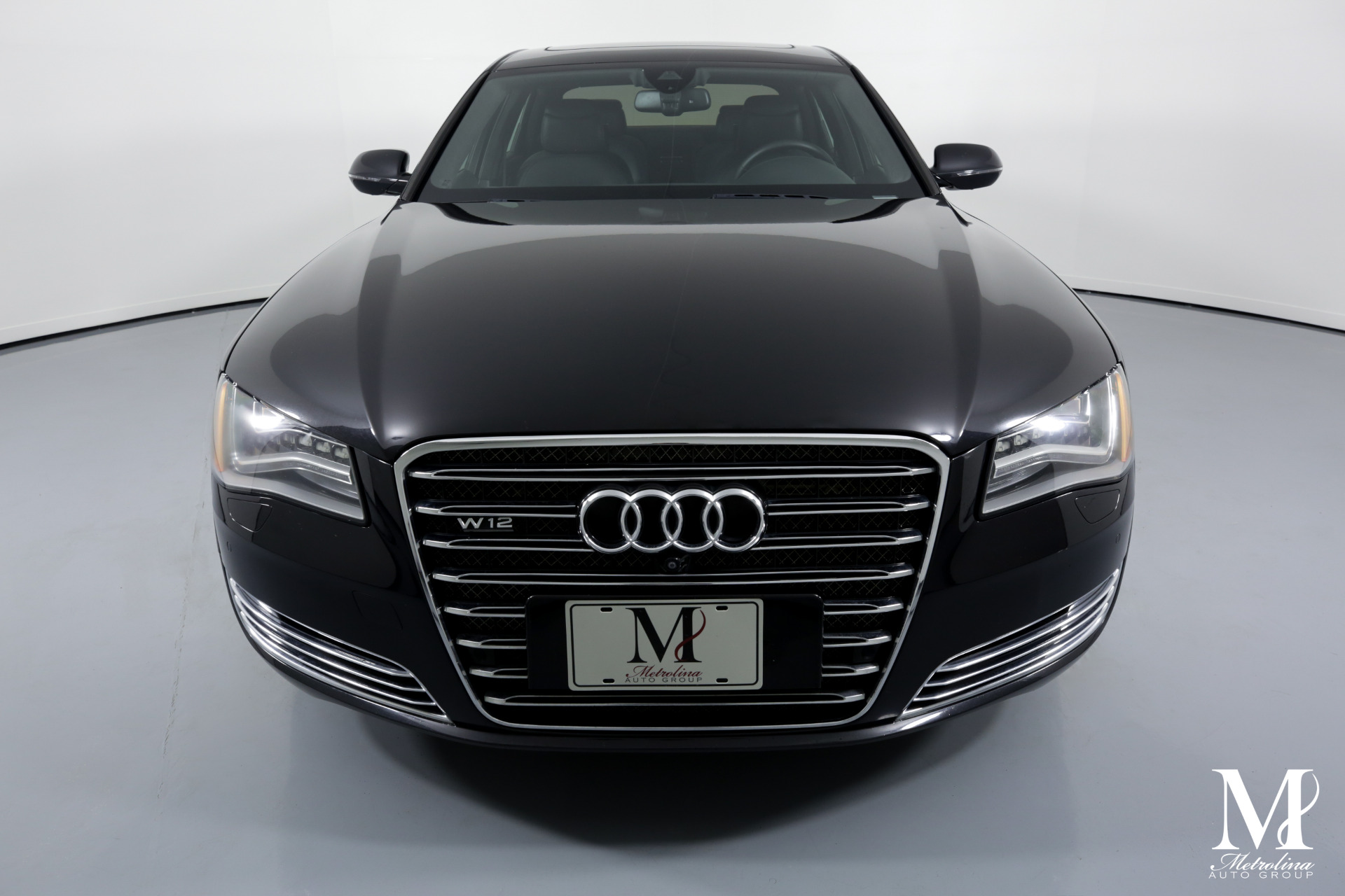 Used 2013 Audi A8 L W12 quattro for sale $37,596 at Metrolina Auto Group in Charlotte NC 28217 - 3