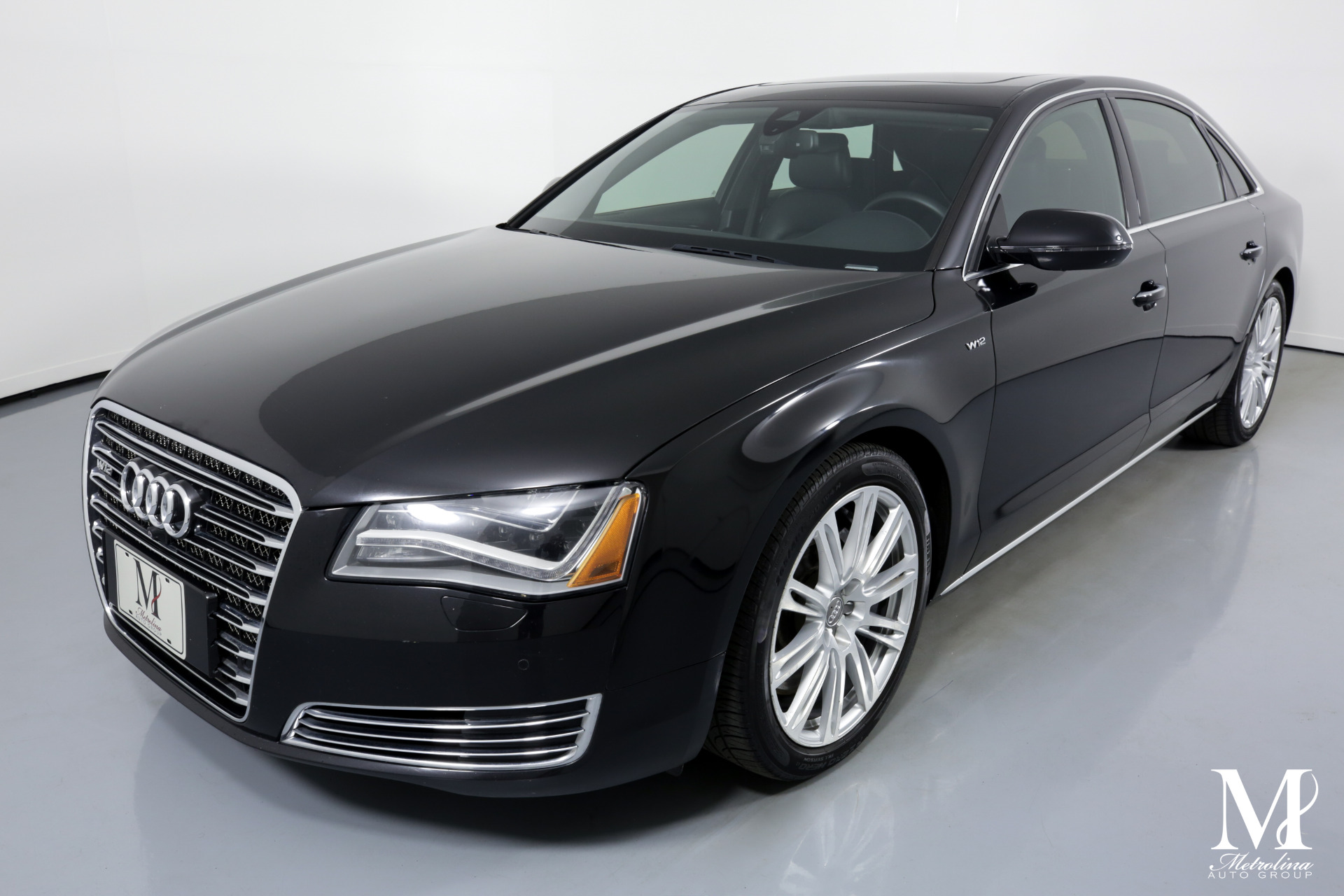 Used 2013 Audi A8 L W12 quattro for sale Sold at Metrolina Auto Group in Charlotte NC 28217 - 4