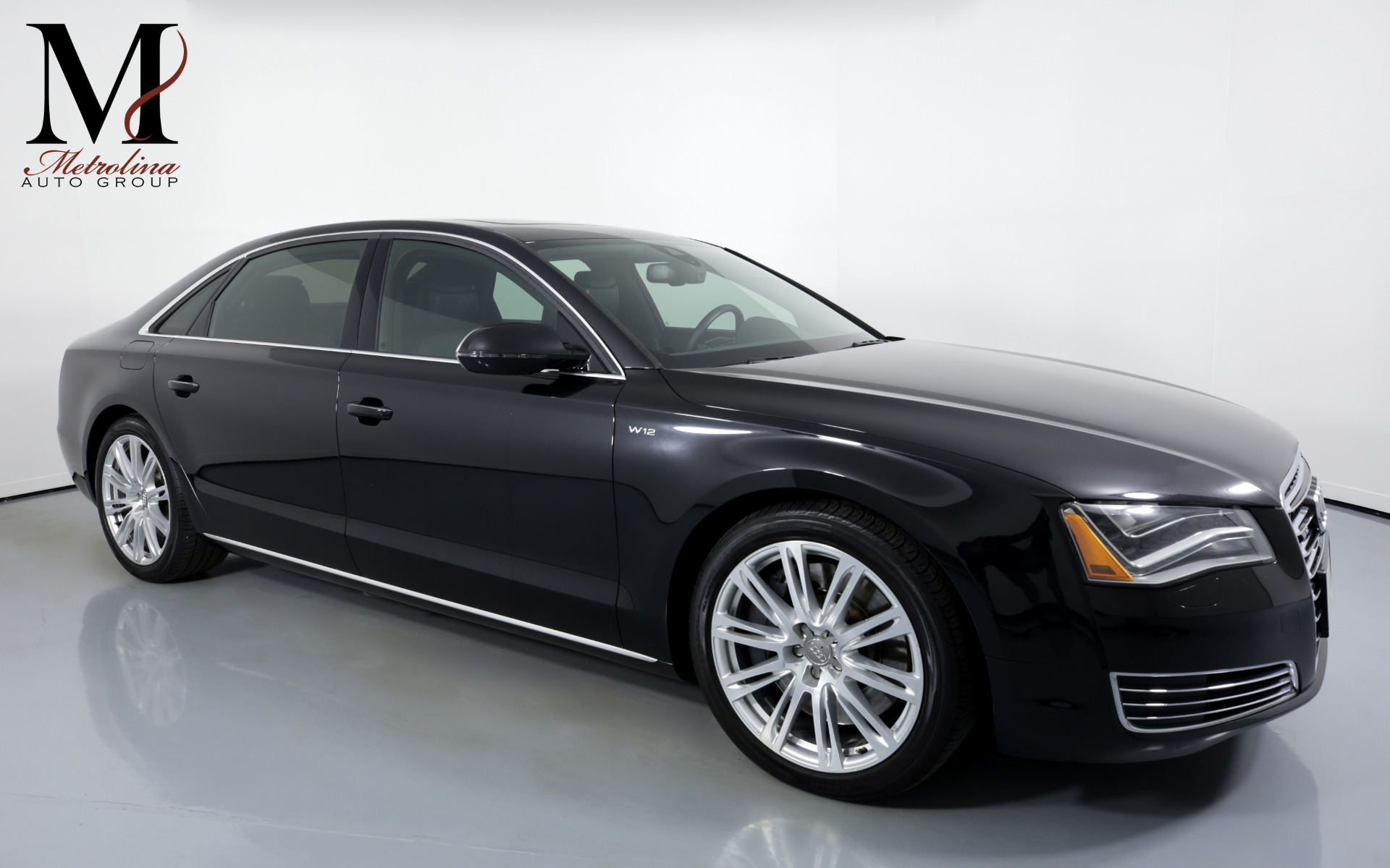 Used 2013 Audi A8 L W12 quattro for sale Sold at Metrolina Auto Group in Charlotte NC 28217 - 1