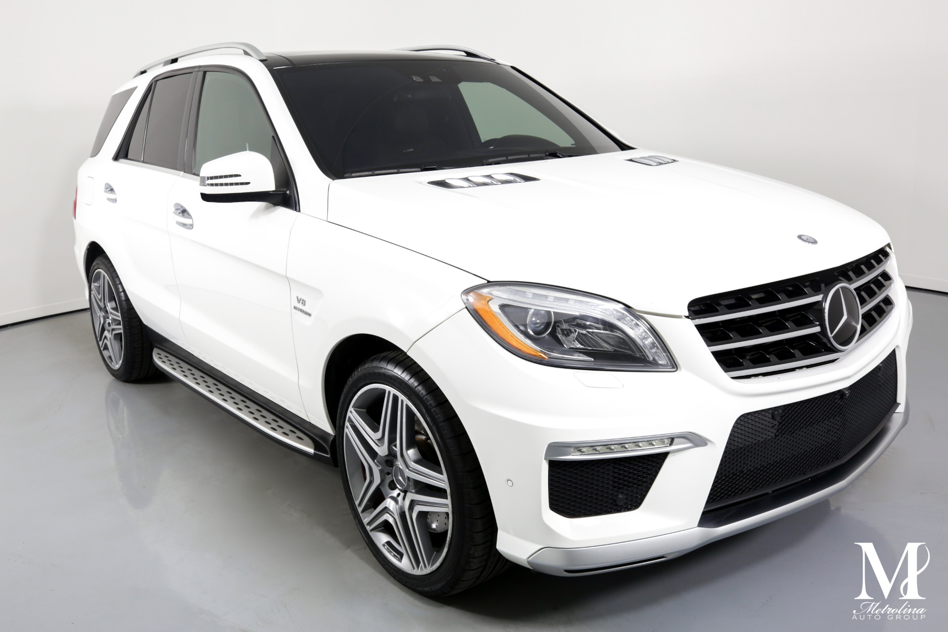 Used 2015 Mercedes-Benz M-Class ML 63 AMG for sale Sold at Metrolina Auto Group in Charlotte NC 28217 - 2