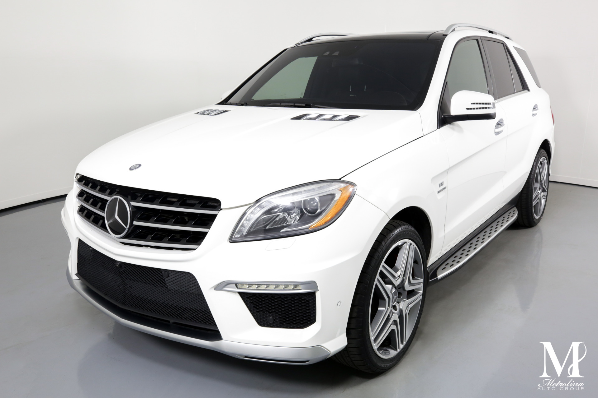 Used 2015 Mercedes-Benz M-Class ML 63 AMG for sale Sold at Metrolina Auto Group in Charlotte NC 28217 - 4