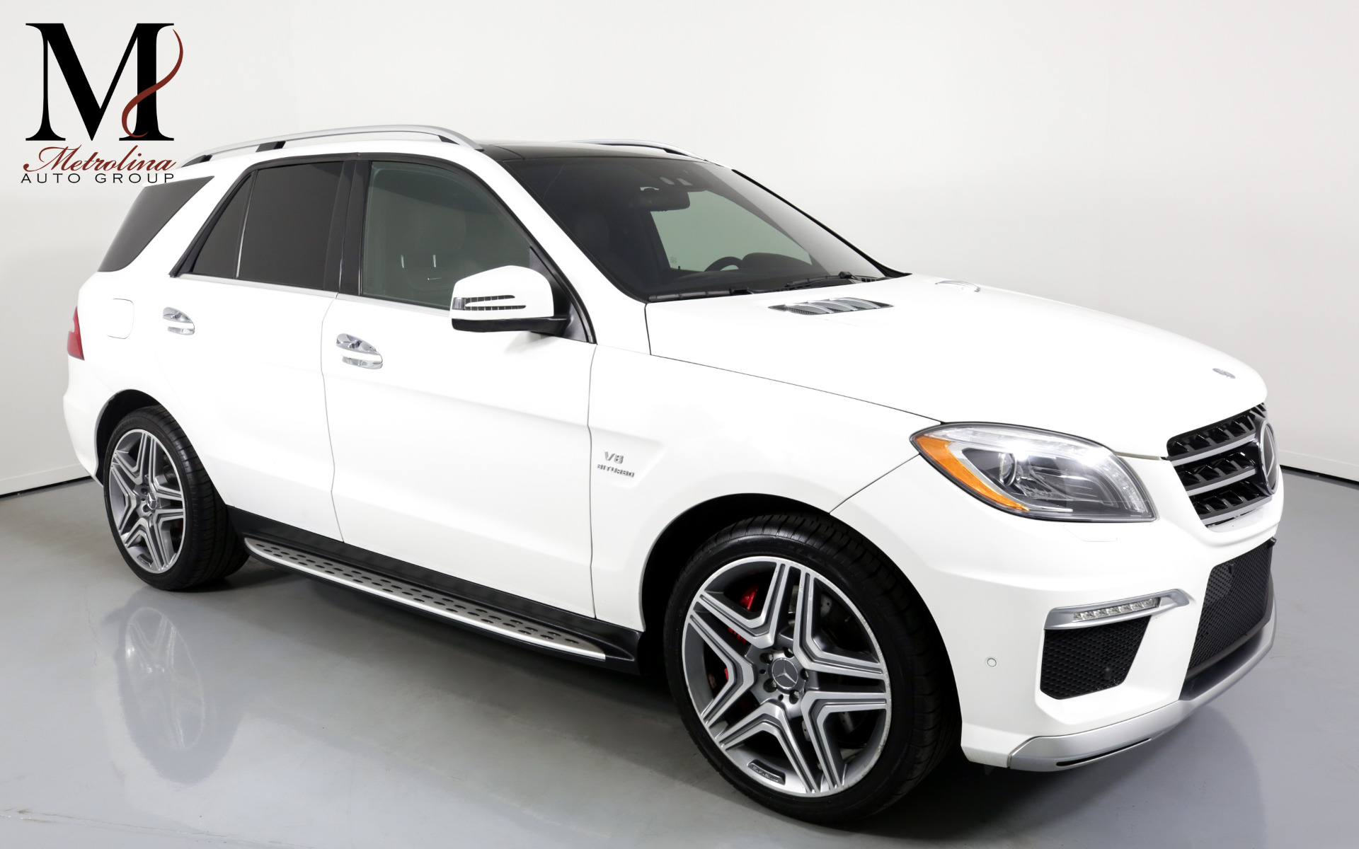 Used 2015 Mercedes-Benz M-Class ML 63 AMG for sale Sold at Metrolina Auto Group in Charlotte NC 28217 - 1