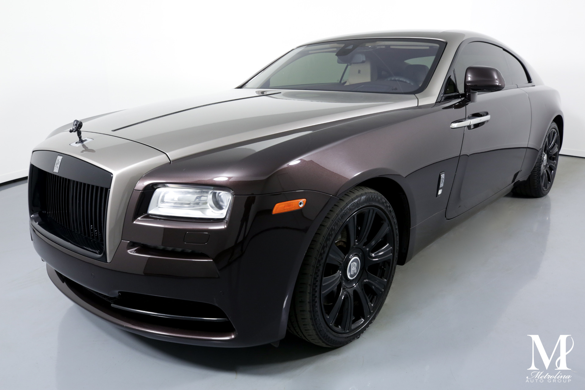 Used 2014 Rolls-Royce Wraith for sale $157,996 at Metrolina Auto Group in Charlotte NC 28217 - 4