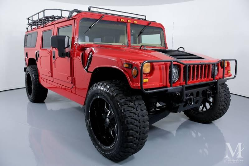 Used 1997 HUMMER H1 for sale Sold at Metrolina Auto Group in Charlotte NC 28217 - 2