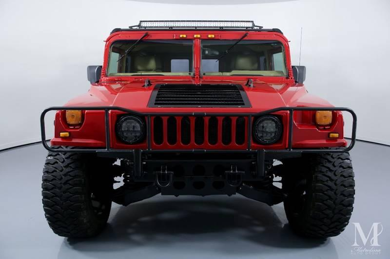 Used 1997 HUMMER H1 for sale Sold at Metrolina Auto Group in Charlotte NC 28217 - 3