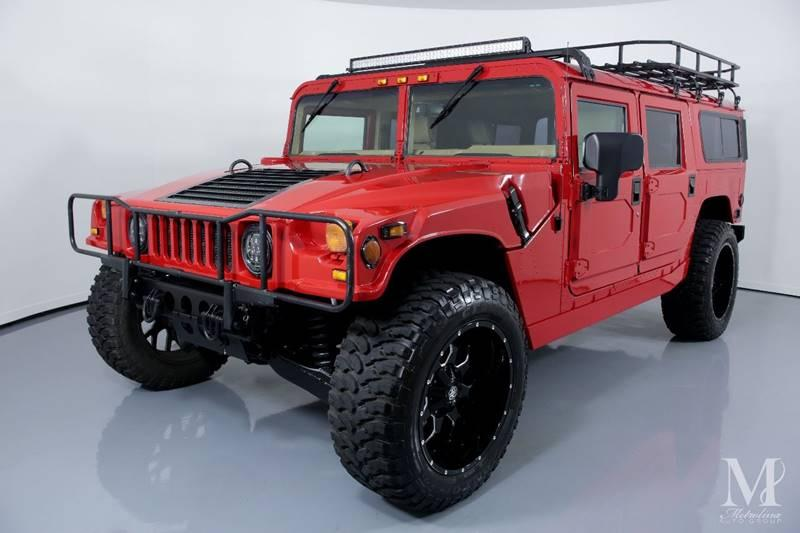 Used 1997 HUMMER H1 for sale Sold at Metrolina Auto Group in Charlotte NC 28217 - 4