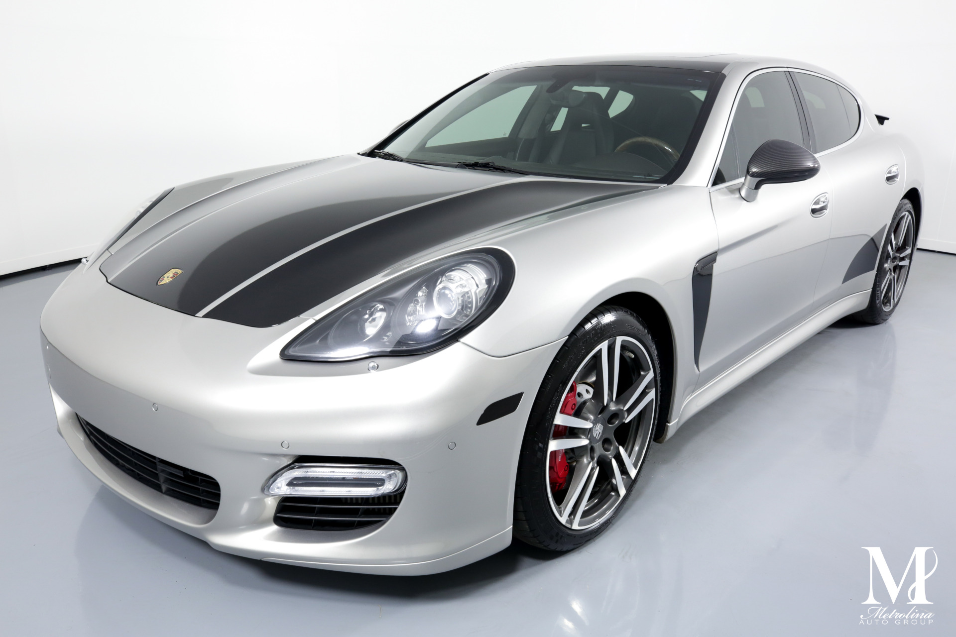 Used 2012 Porsche Panamera Turbo for sale $51,996 at Metrolina Auto Group in Charlotte NC 28217 - 4
