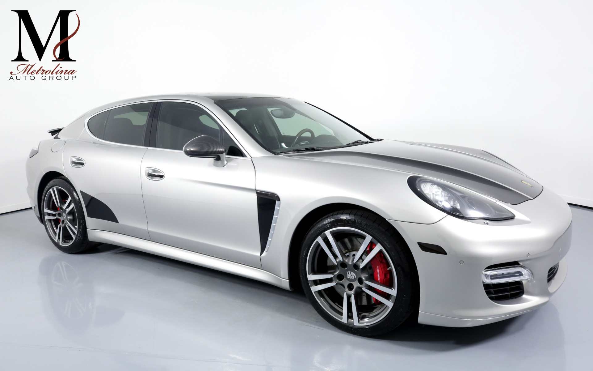 Used 2012 Porsche Panamera Turbo for sale $51,996 at Metrolina Auto Group in Charlotte NC 28217 - 1