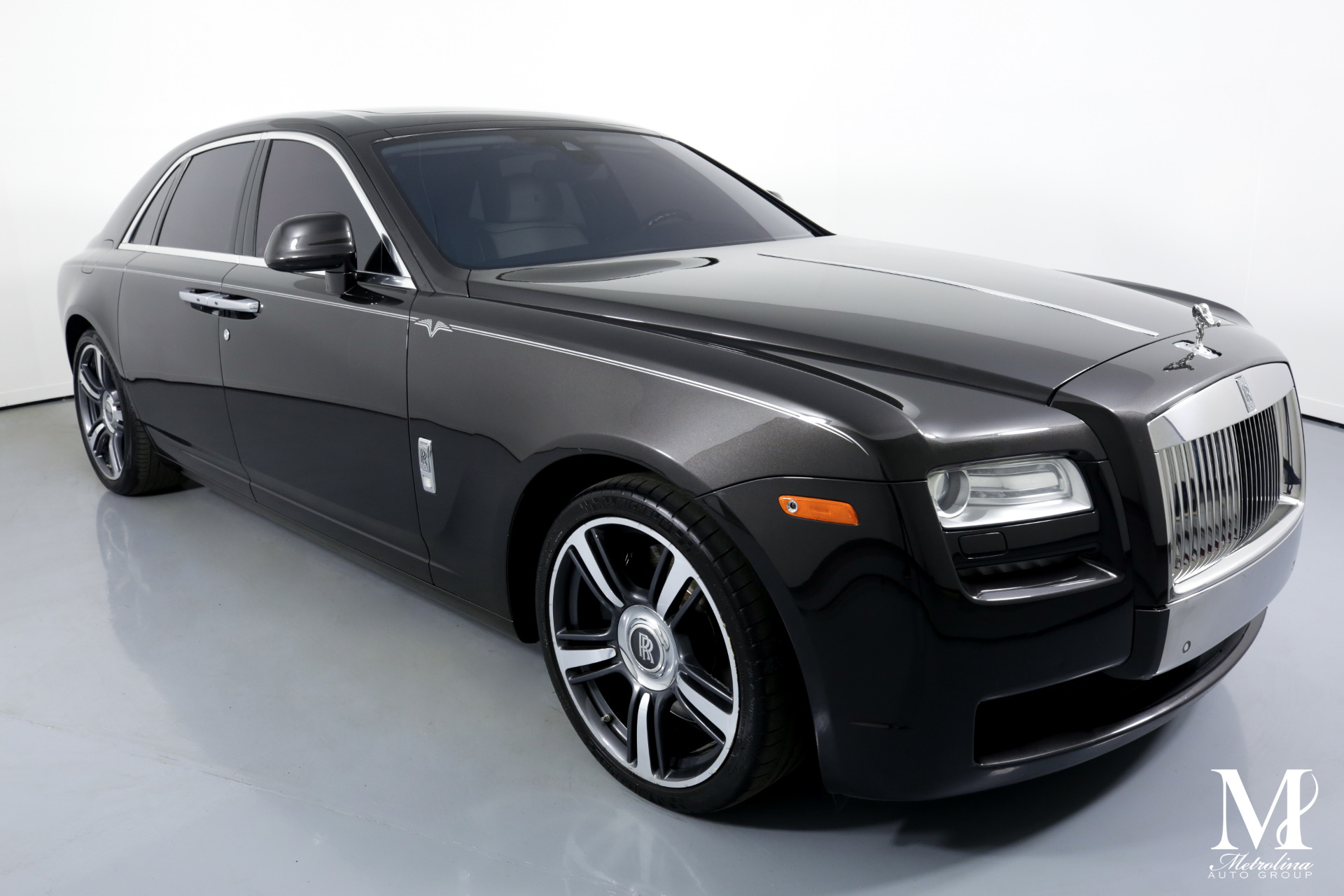 Used 2014 Rolls-Royce Ghost for sale $124,996 at Metrolina Auto Group in Charlotte NC 28217 - 2