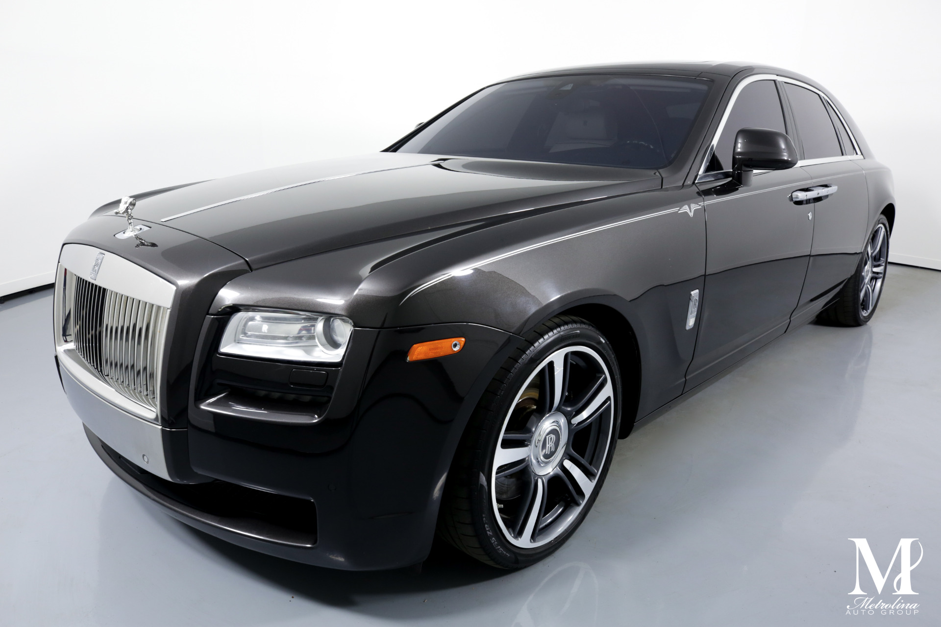 Used 2014 Rolls-Royce Ghost for sale $124,996 at Metrolina Auto Group in Charlotte NC 28217 - 4