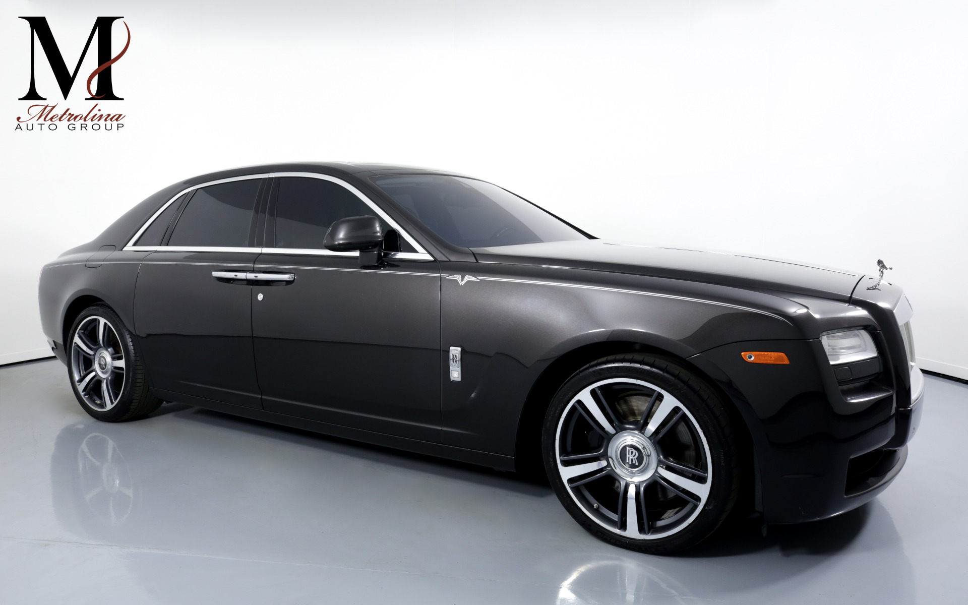 Used 2014 Rolls-Royce Ghost for sale $114,996 at Metrolina Auto Group in Charlotte NC 28217 - 1