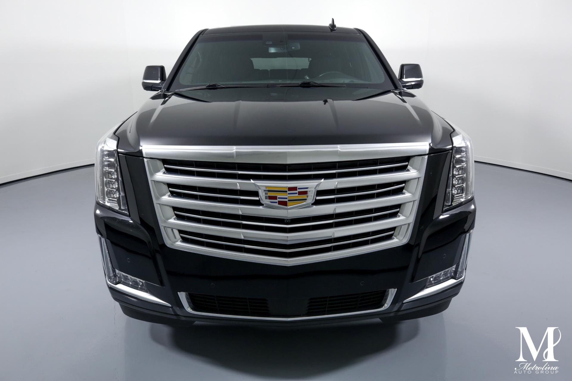 Used 2016 Cadillac Escalade ESV Platinum for sale $54,996 at Metrolina Auto Group in Charlotte NC 28217 - 3