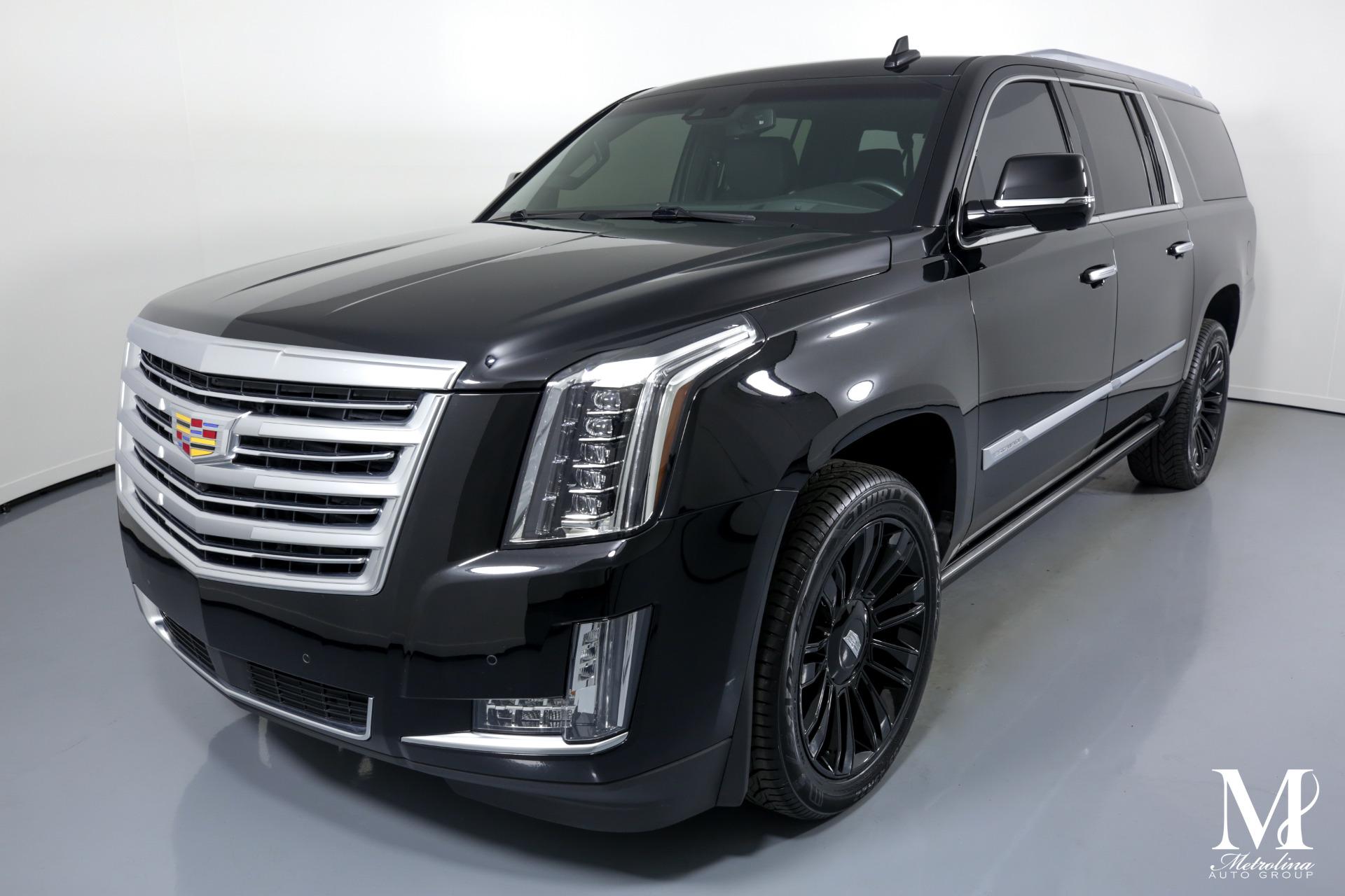 Used 2016 Cadillac Escalade ESV Platinum for sale $54,996 at Metrolina Auto Group in Charlotte NC 28217 - 4