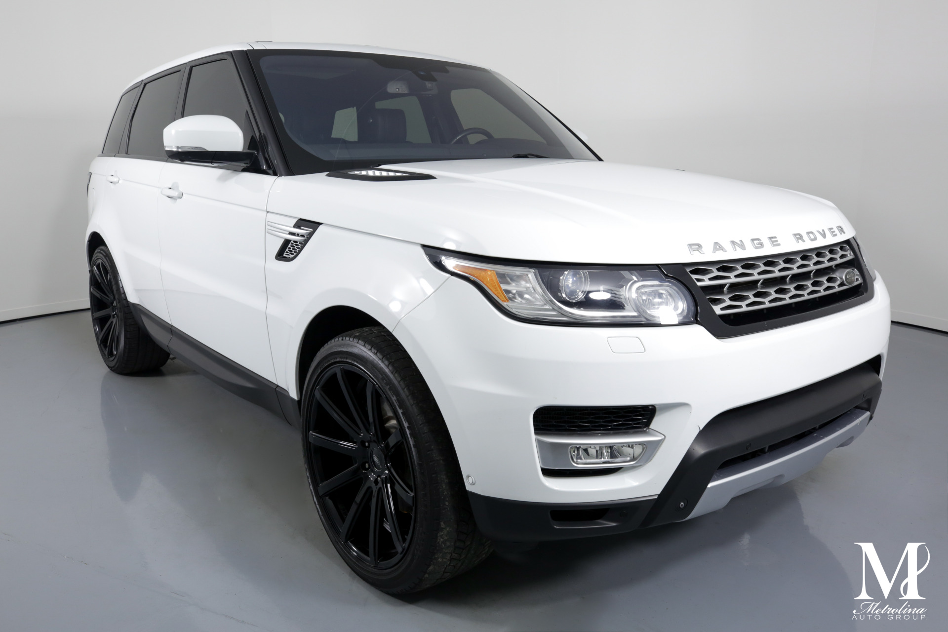 Used 2014 Land Rover Range Rover Sport HSE for sale $36,475 at Metrolina Auto Group in Charlotte NC 28217 - 2