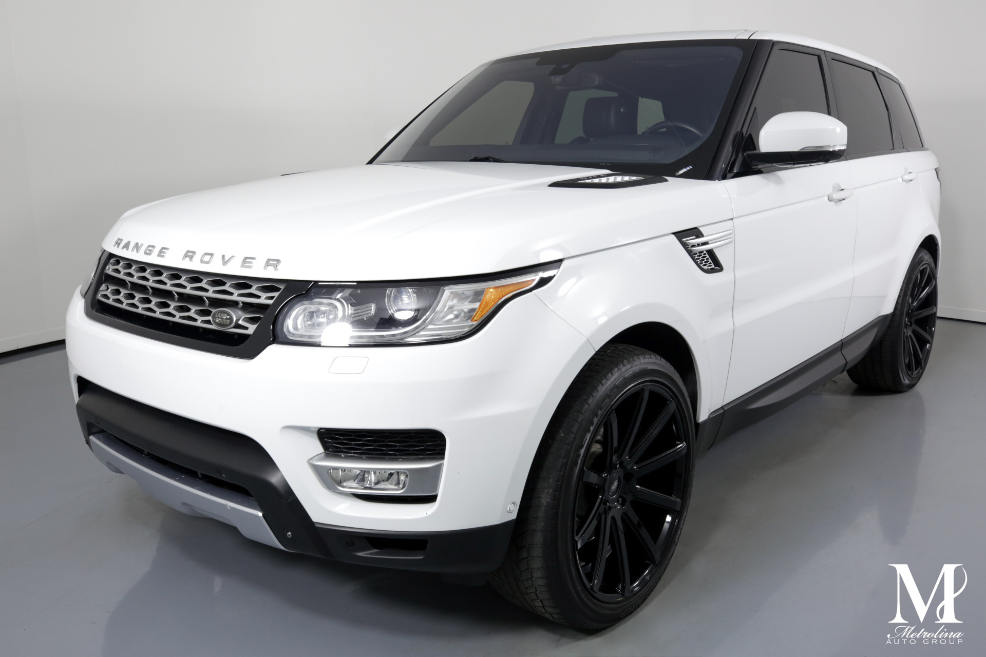 Used 2014 Land Rover Range Rover Sport HSE for sale $36,475 at Metrolina Auto Group in Charlotte NC 28217 - 4