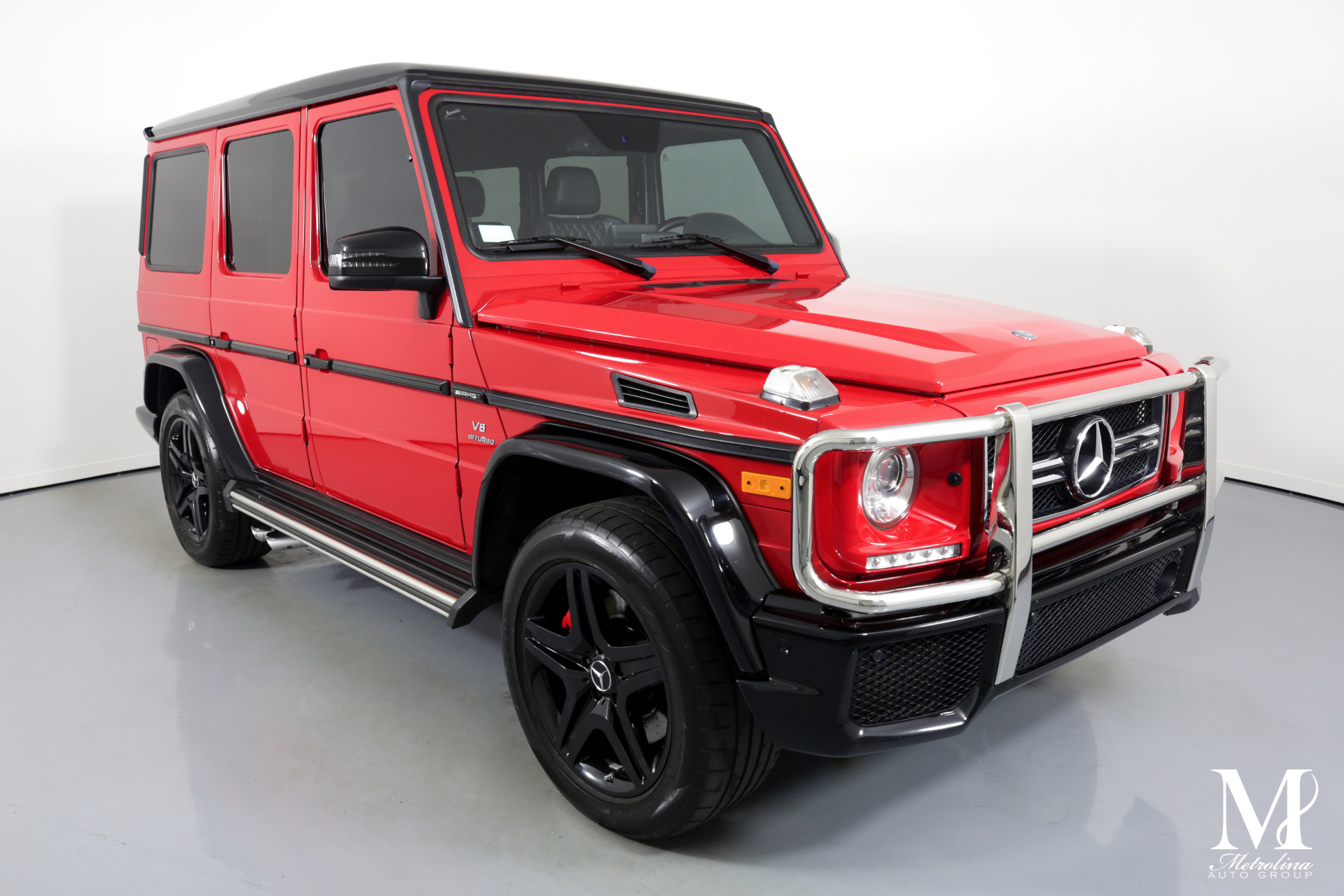 Used 2017 Mercedes-Benz G-Class AMG G 63 AWD 4MATIC 4dr SUV for sale Sold at Metrolina Auto Group in Charlotte NC 28217 - 2