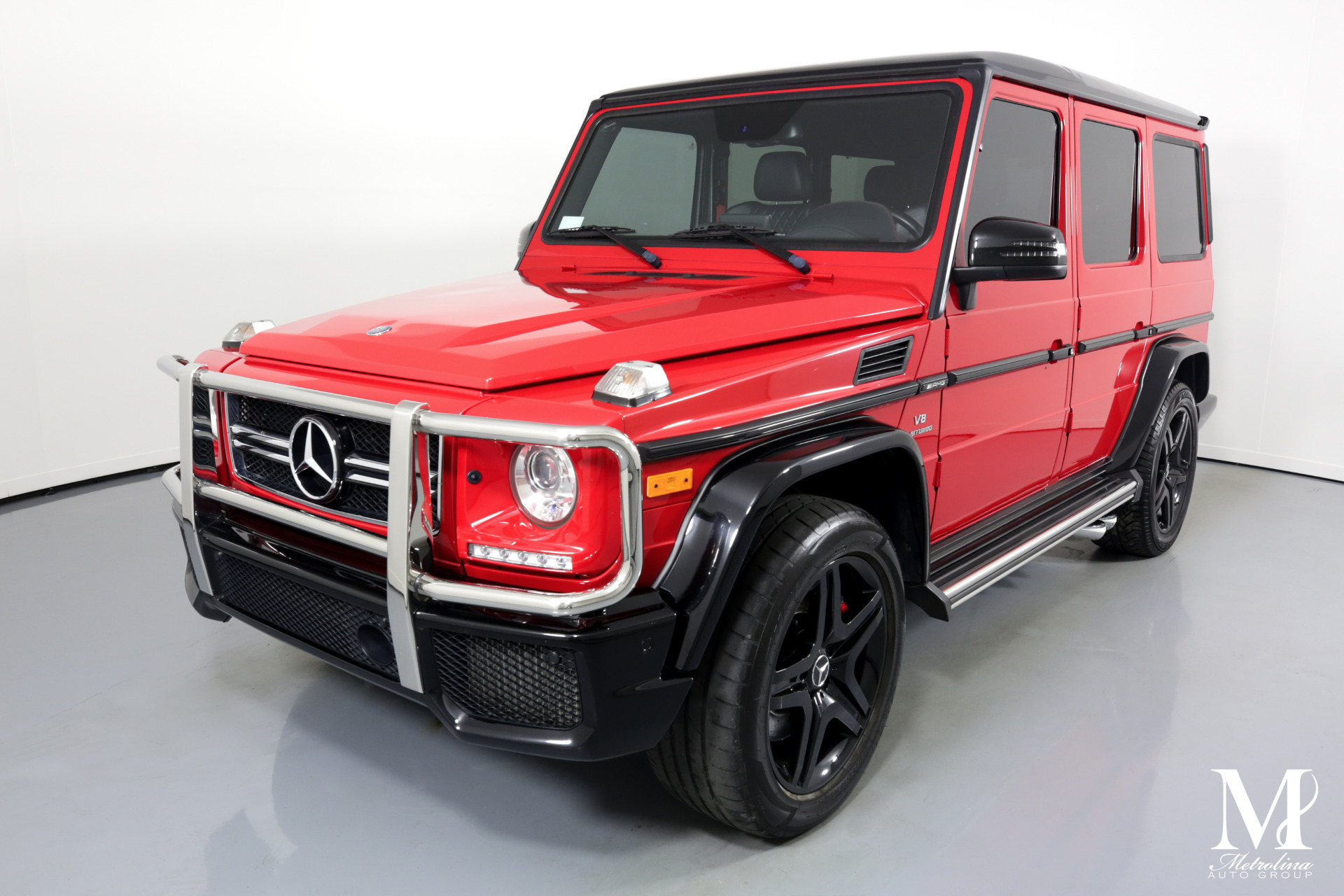 Used 2017 Mercedes-Benz G-Class AMG G 63 AWD 4MATIC 4dr SUV for sale Sold at Metrolina Auto Group in Charlotte NC 28217 - 4