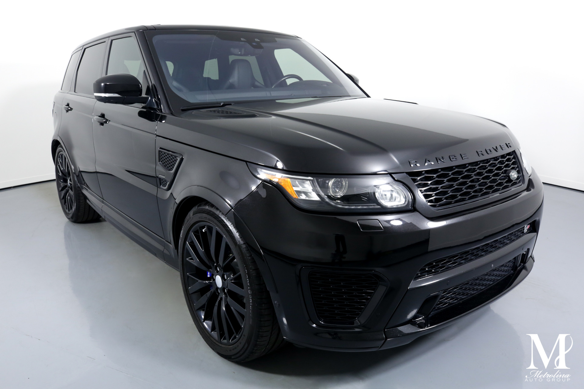 Used 2017 Land Rover Range Rover Sport SVR for sale $69,996 at Metrolina Auto Group in Charlotte NC 28217 - 2