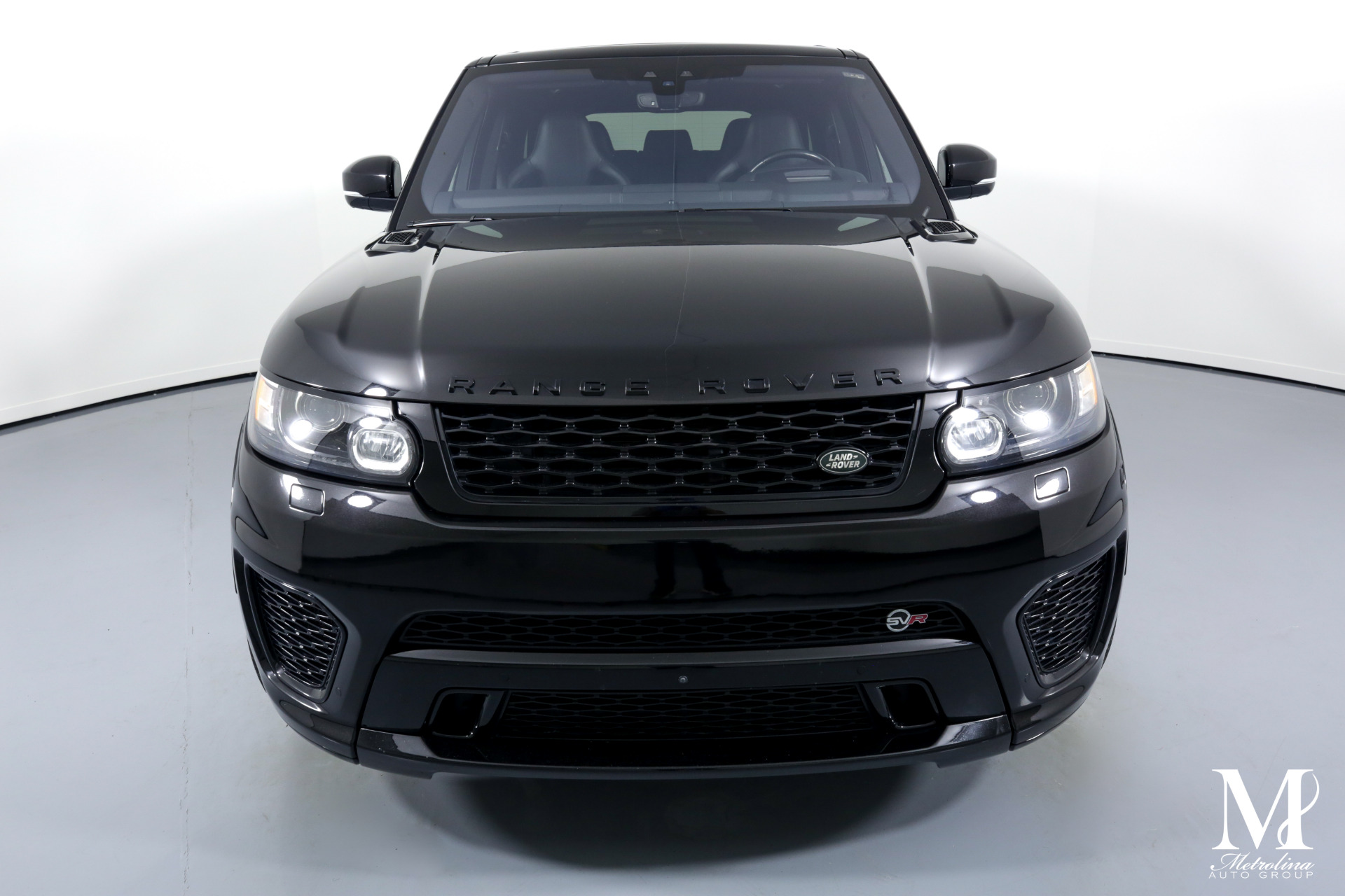 Used 2017 Land Rover Range Rover Sport SVR for sale $69,996 at Metrolina Auto Group in Charlotte NC 28217 - 3