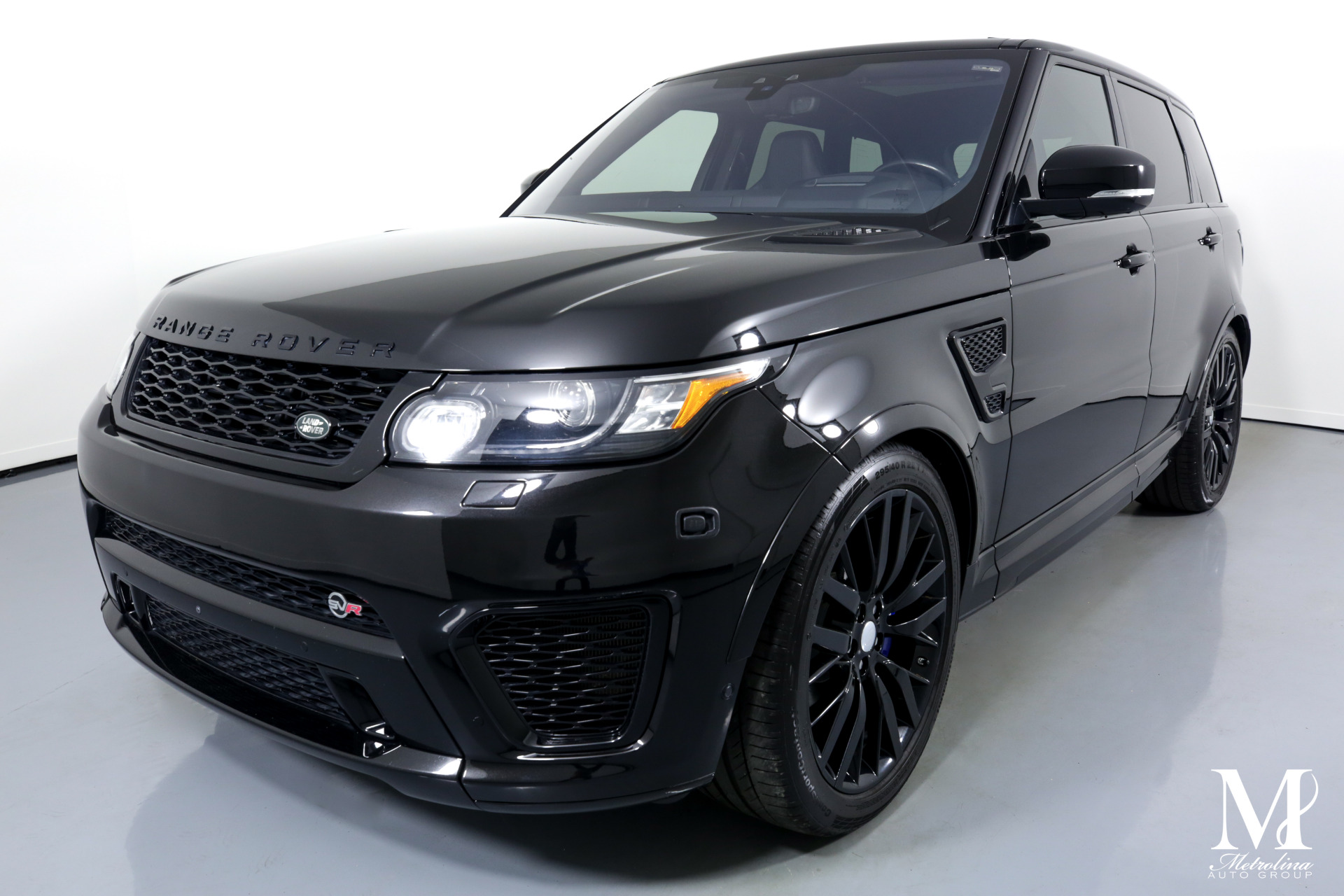 Used 2017 Land Rover Range Rover Sport SVR for sale $69,996 at Metrolina Auto Group in Charlotte NC 28217 - 4
