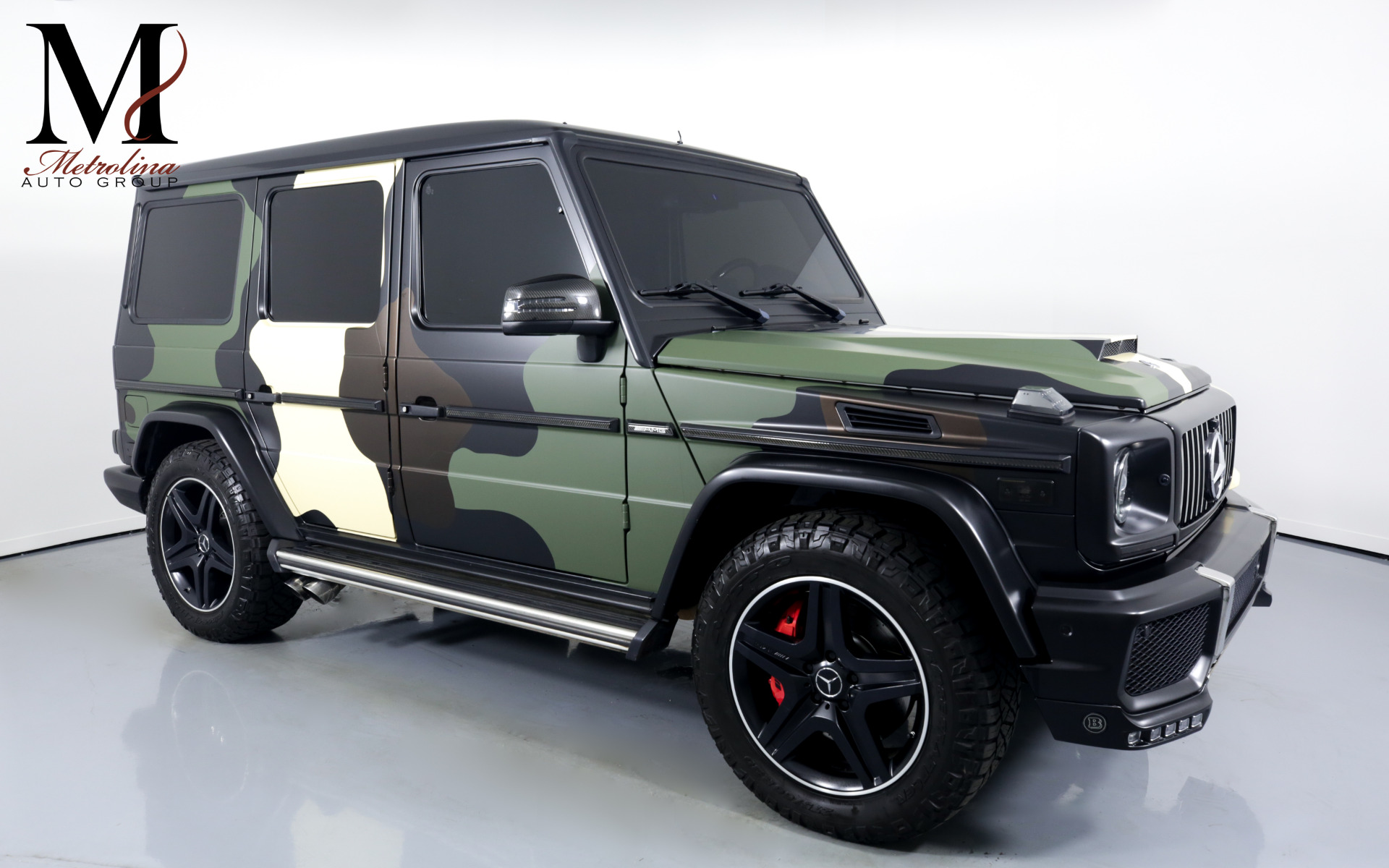 Used 2013 Mercedes-Benz G-Class G 63 AMG for sale $84,996 at Metrolina Auto Group in Charlotte NC 28217 - 1