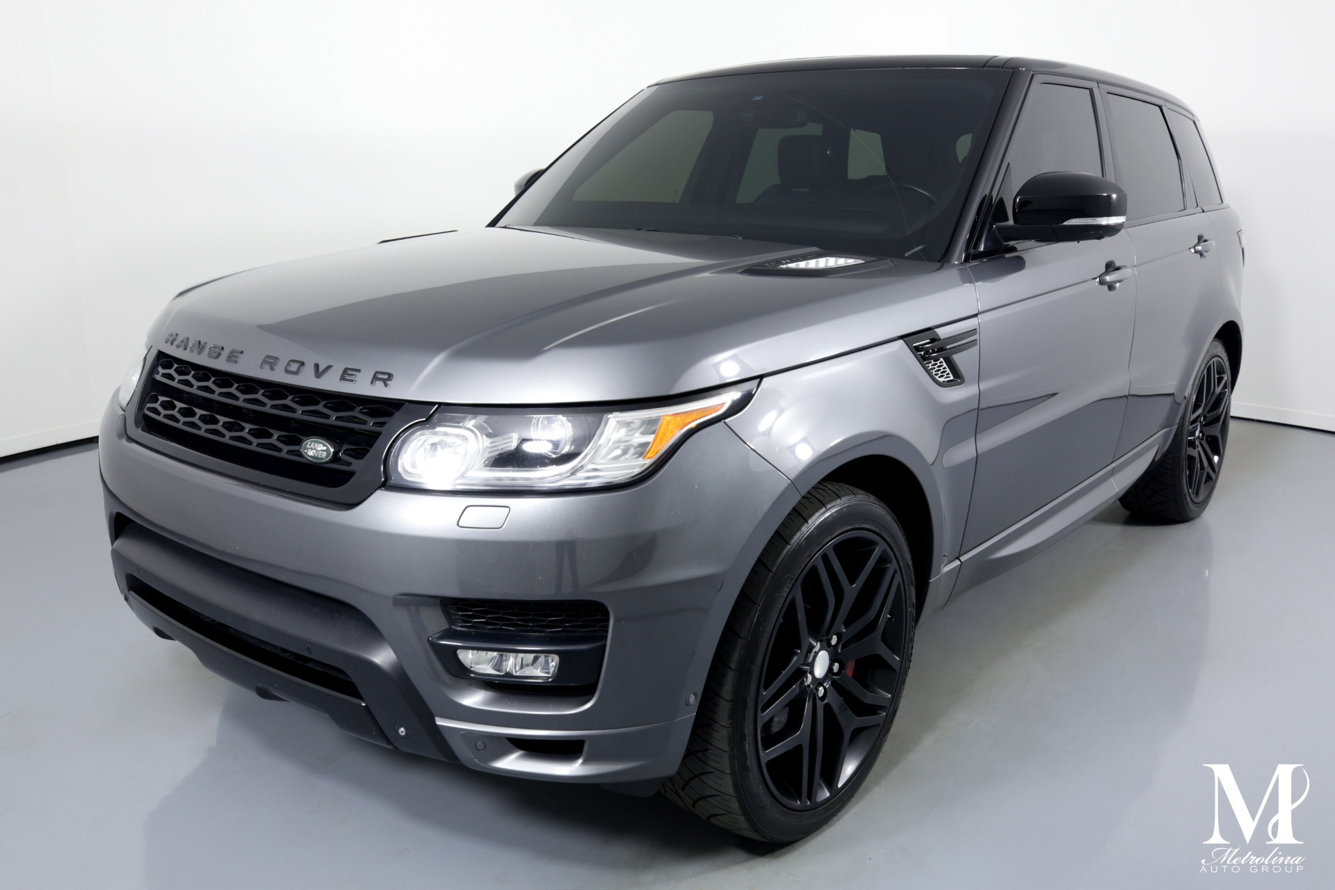Used 2014 Land Rover Range Rover Sport Autobiography for sale Sold at Metrolina Auto Group in Charlotte NC 28217 - 4