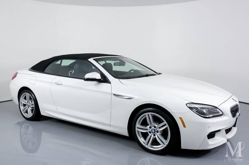 Used 2016 BMW 6 Series 640i xDrive AWD 2dr Convertible for sale Sold at Metrolina Auto Group in Charlotte NC 28217 - 2