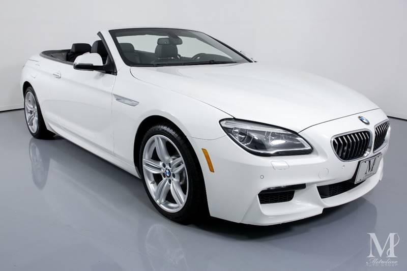 Used 2016 BMW 6 Series 640i xDrive AWD 2dr Convertible for sale Sold at Metrolina Auto Group in Charlotte NC 28217 - 3