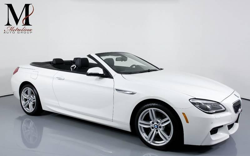 Used 2016 BMW 6 Series 640i xDrive AWD 2dr Convertible for sale Sold at Metrolina Auto Group in Charlotte NC 28217 - 1